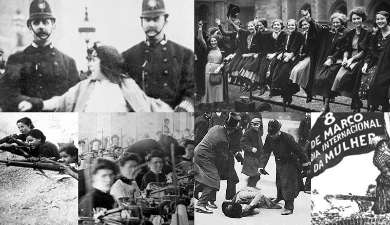 100 anos da greve das tecelãs russas. 40 anos do reconhecimento do Dia da Mulher pela ONU