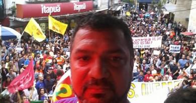 JP protesto Campos